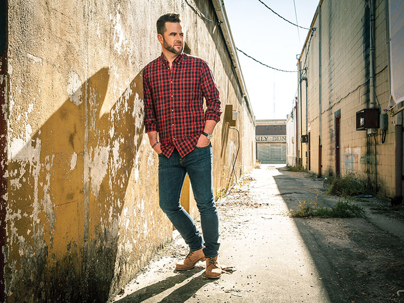 David Nail to perform at 9:00 PM on Alabaster CityFest Main Stage