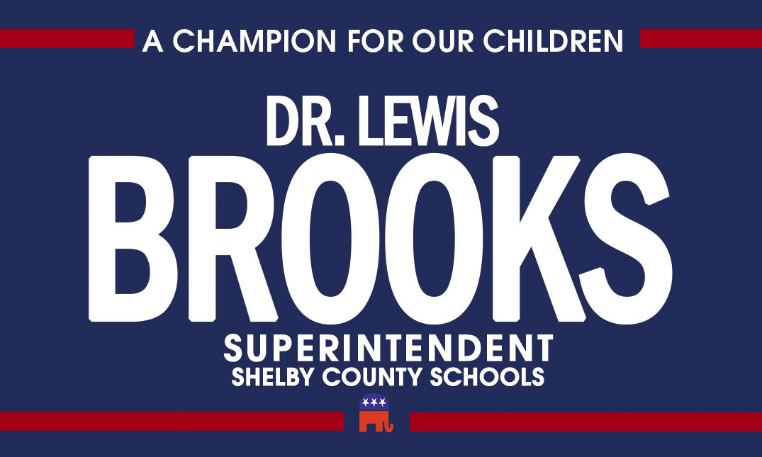 Brooks for SCS Superintendent