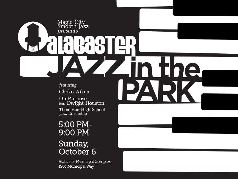 Jazz in the Park, Sunday, October 6