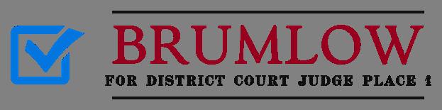 vote brumlow district court judge