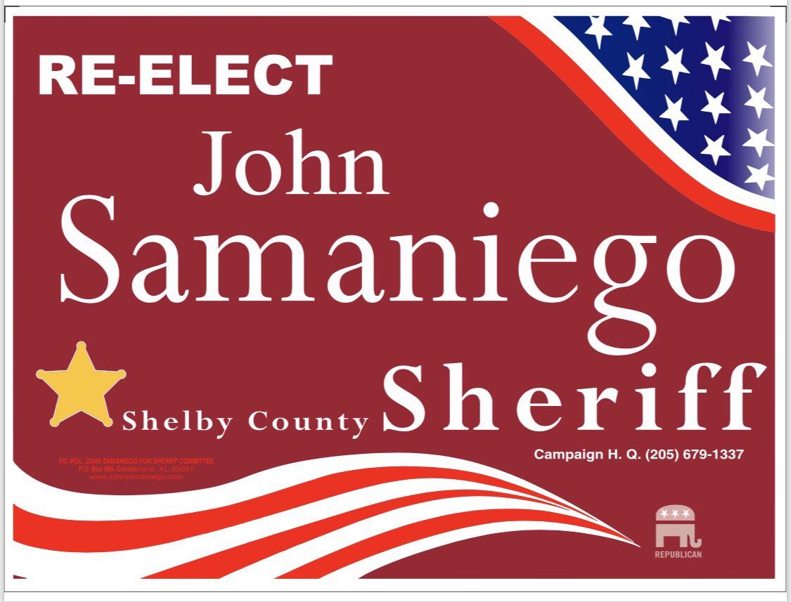 John Samaniego for Sheriff
